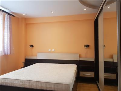 Chirie apartament bloc nou 3 camere. Mobilat si Utilat